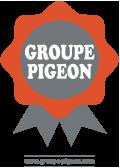 Groupe Pigeon béton décoratif partenaire Fabat